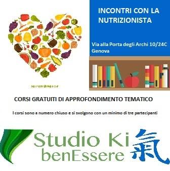 educazione alimentare nutrizionista Genova