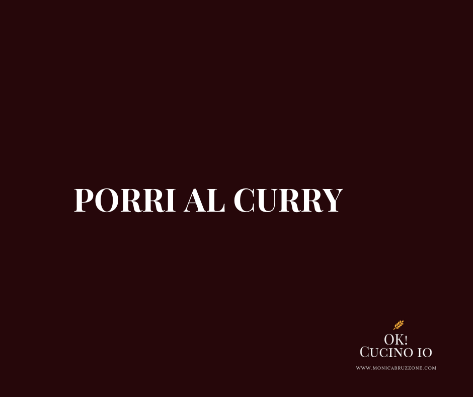 Porri al curry